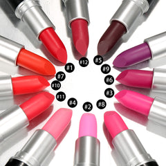 12 Colors Lipsticks