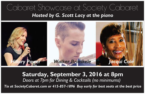 9/3/2016 - Cabaret Showcase San Francisco