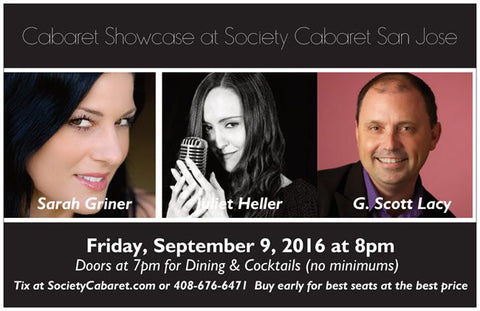 9/9/2016 - Cabaret Showcase San Jose