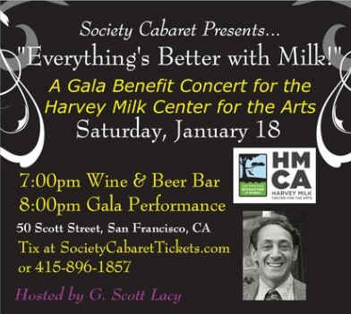 Everything's Better with Milk - Harvey Milk Gala - 01/18/20