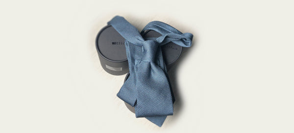 Suits, Shirts, and a Dusty Blue Tie to Make the Sophisticated Shade of Blue Your Summer Colour