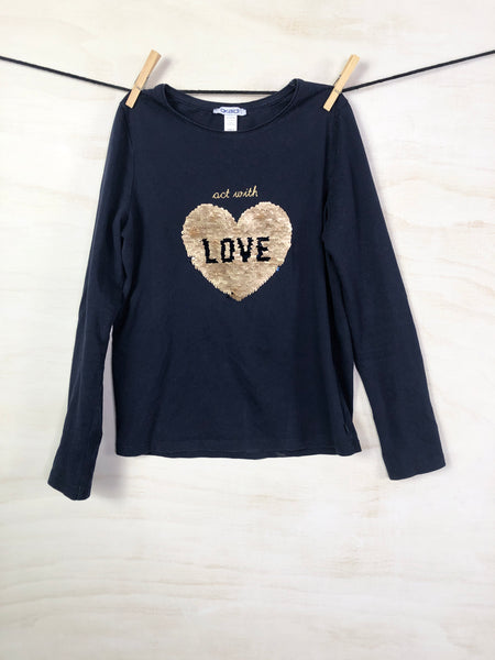 Long-sleeve tee, 10Y