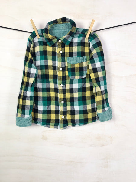 UNKNOWN • Button-down, 4-5Y