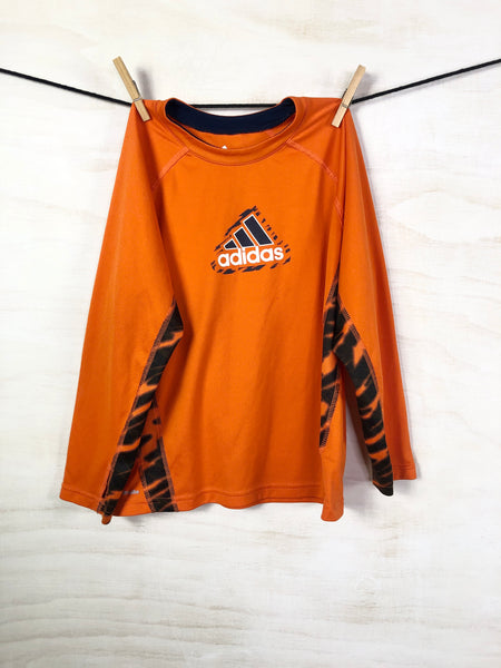 ADIDAS • Activewear Top, 7Y