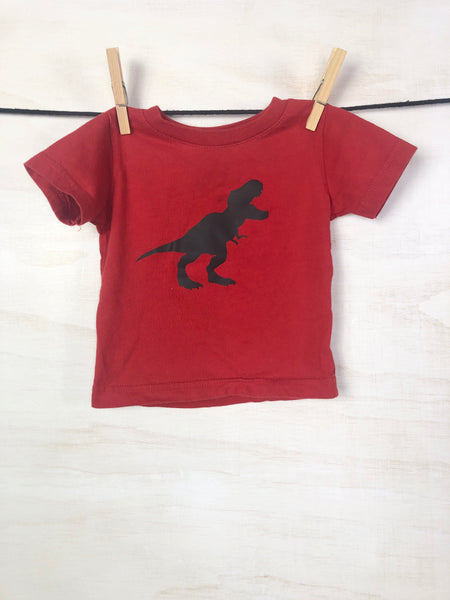 SMALL SHOP • Short-sleeve tee, 6M