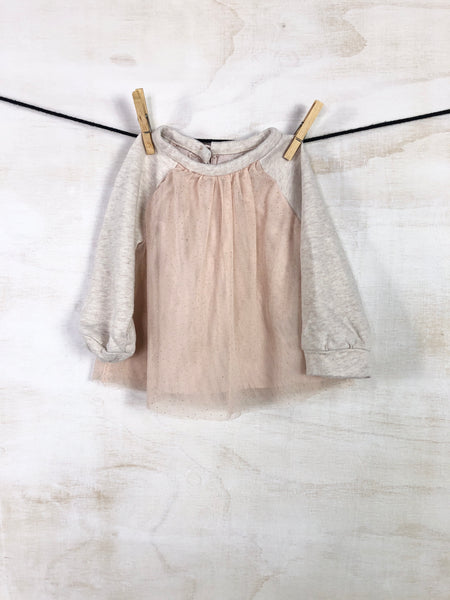 GAP• Long-sleeve top, 18-24M