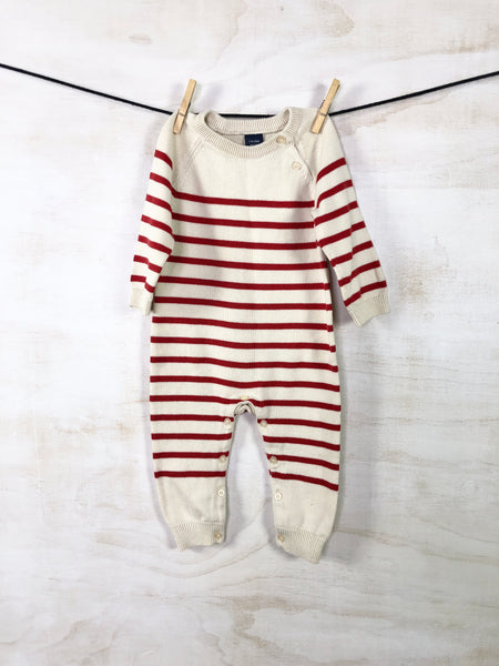 Long-sleeve tee, 12-18M