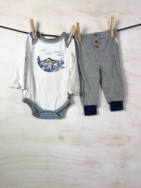 Long-sleeve tee, 5-6Y