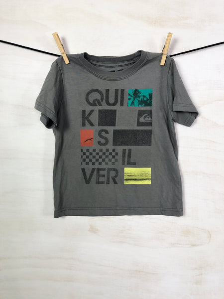 QUICKSILVER • Short-sleeve tee, 3Y