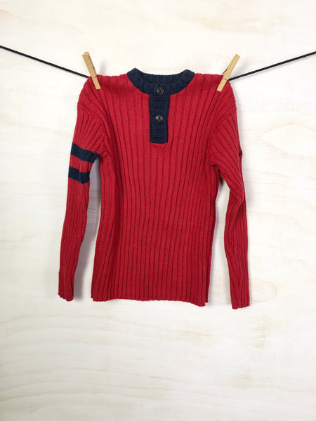 POLO JEANS CO. RALPH LAUREN •  Sweater, 4Y