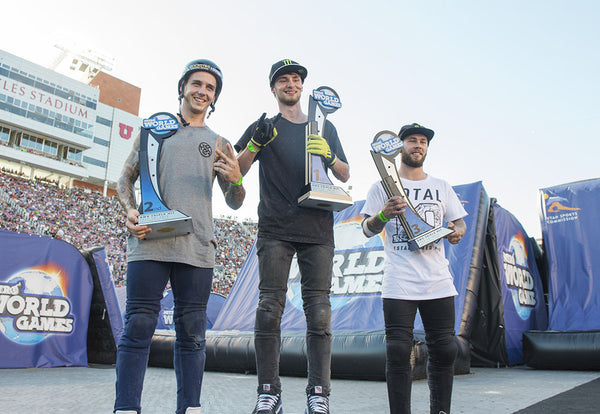 Colton Walker wins Nitro World Games BMX Triple Hit