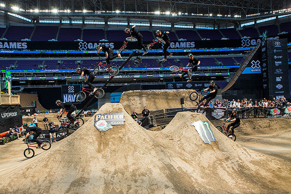 Colton Walker wins X Games BMX Dirt Gold