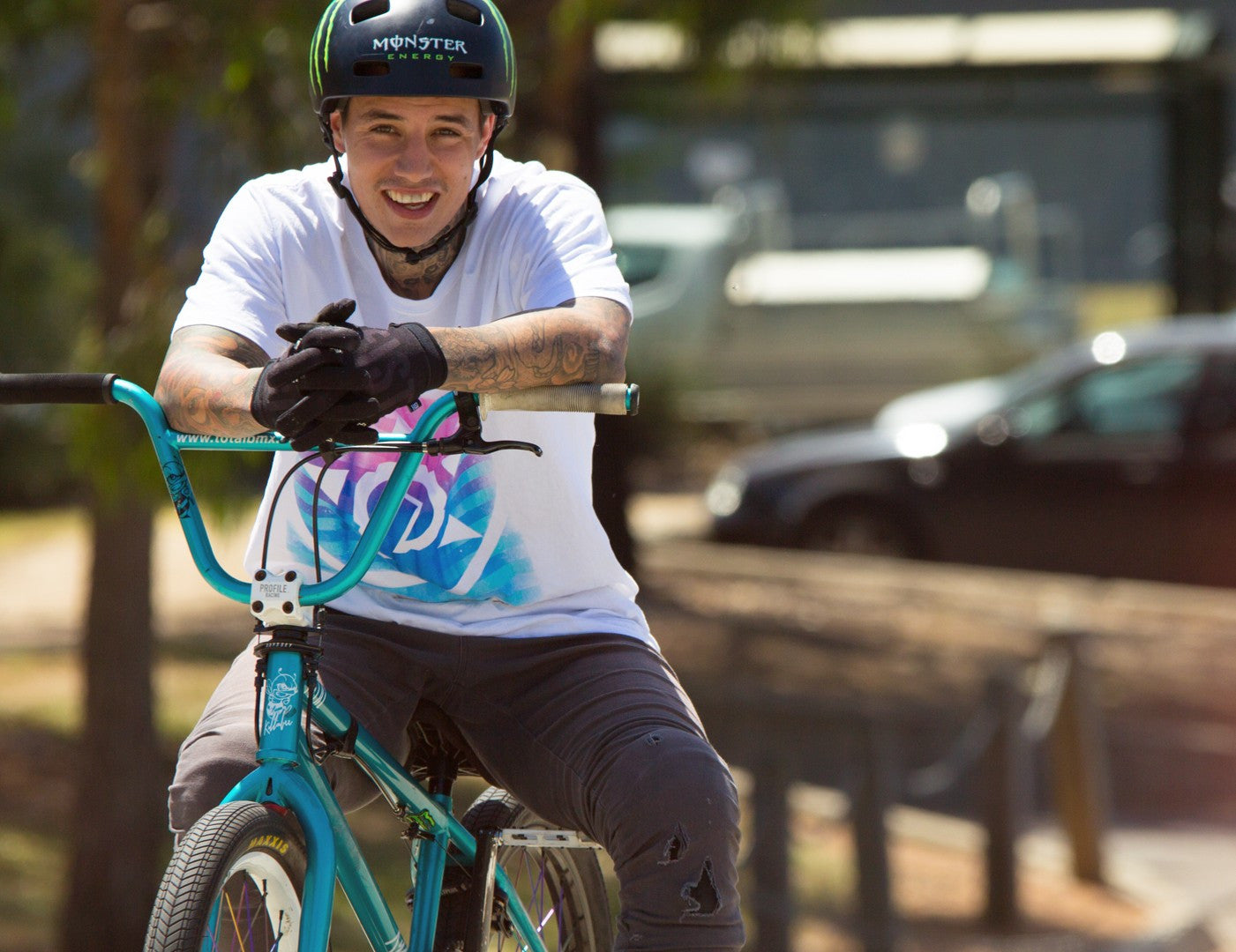 Kyle Baldock shreds Melbourne