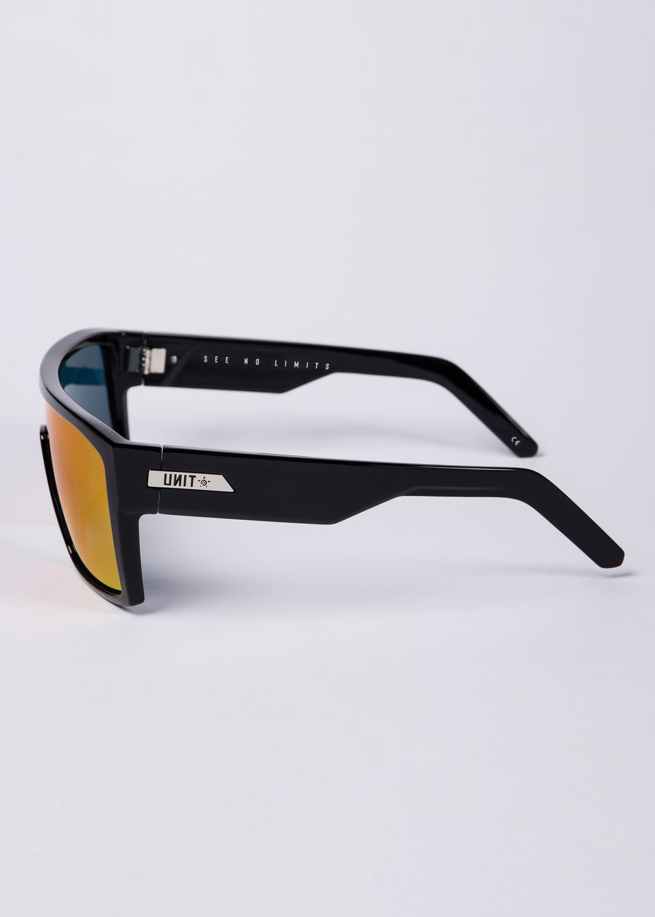 UNIT Sunglasses Command - Black Purple Polarised