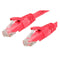 0.75m RJ45 CAT6 Ethernet Cable Red