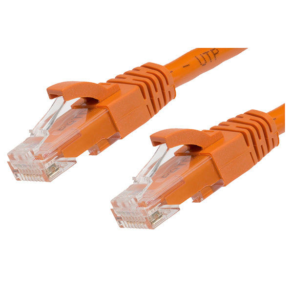 075M Cat 6 Ethernet Network Cable Orange