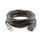 20M Usb Am Af Active Extension Cable Black