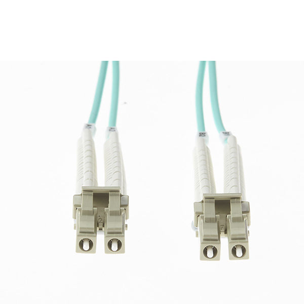 05M Lc Flexi Boot Om4 Multimode Fibre Optic Duplex Patch Lead