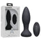 A-Play - Vibe - Experienced - Rechargeable Silicone Anal Plug - Black USB Rechargeable Butt Plug with Remote