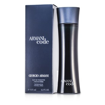 Armani Code Eau De Toilette Spray 125ml or 4.2oz