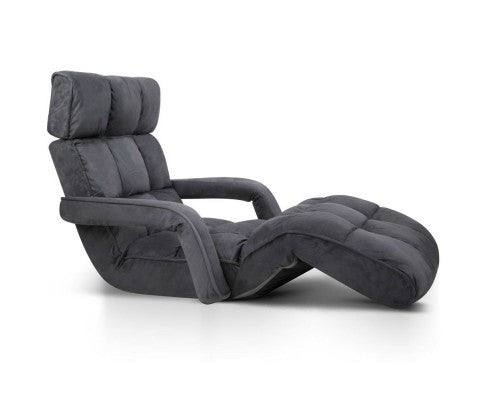 Single Size Lounge Chair with Arms