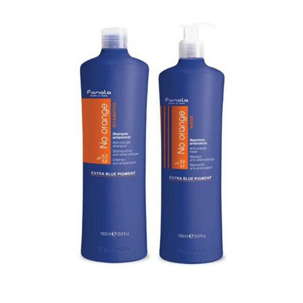 Image of 1000ml Twin Pack Fanola No Orange Coloured Hair Pre Toner