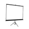100 Inch Projector Screen Tripod Stand Home Pull Down Outdoor Screens