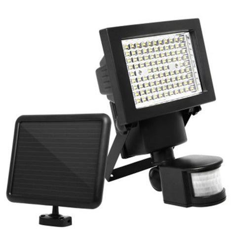 100 LED Ultra Bright Motion Detection Solar Sensor Garden Flood Light