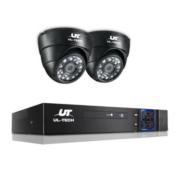 1080P Four Channel CCTV Security Camera (2 Pcs)