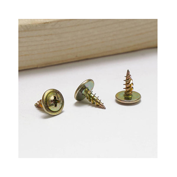 12Mm Button Head Needle Point Screws 8G Pack