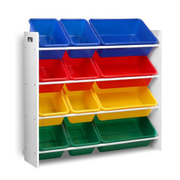 12 Bin Toy Organizer Storage Rack