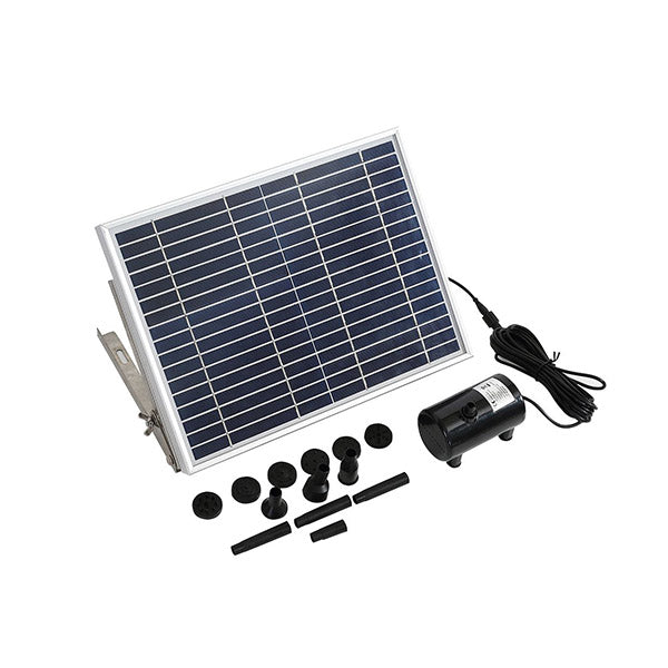 15W Solar Fountain Water Pump Kit Pond Pool Submersible