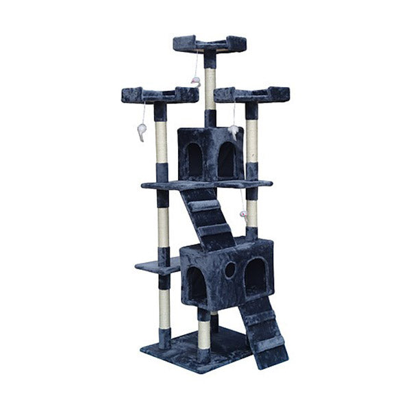 180Cm Cat Tree Post Scratcher Tower House Furniture Wood