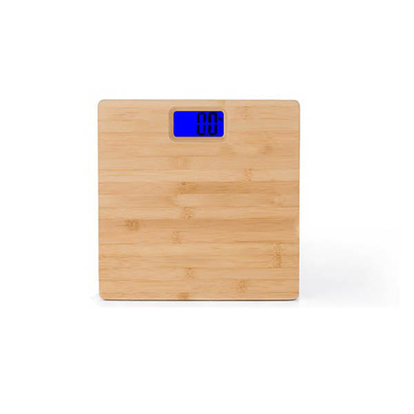 180Kg Bamboo Natural Personal Digital Bathroom Scale