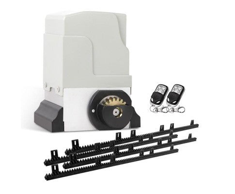 4-Rail Automatic Sliding Gate Opener - 1800kg with 2 Remote Controls