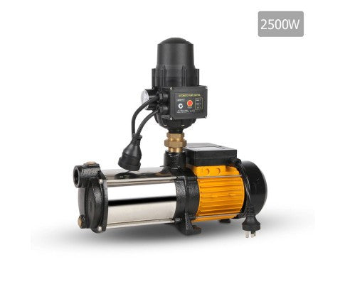 Giantz 2500W 5-Stage Pressure Pump - Black