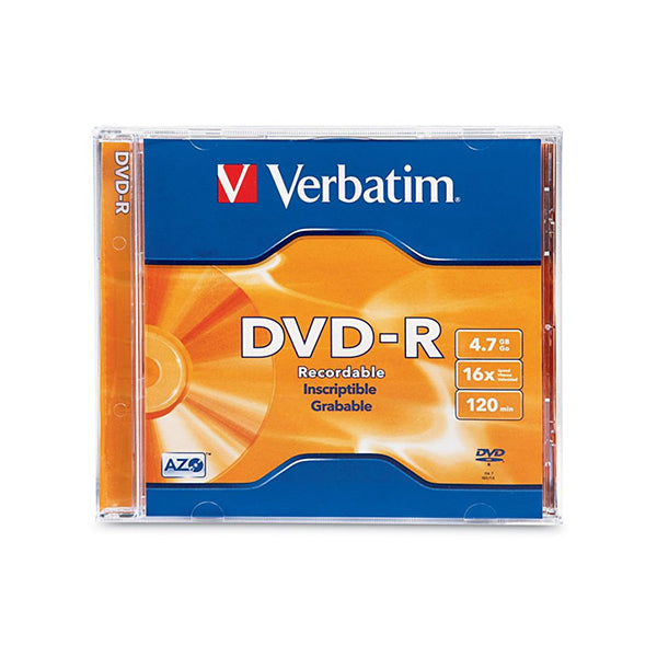 Verbatim 95051 Dvdr Jewel Case