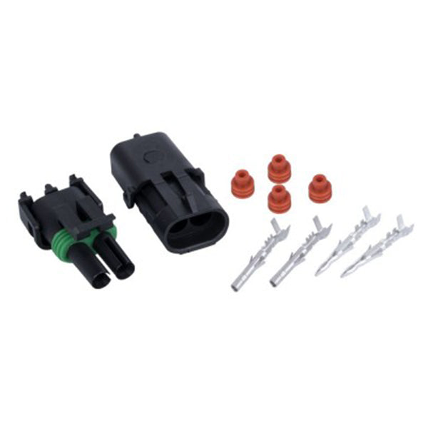 1.5 Mm 2-Way Waterproof Auto Electrical Plug Connector Kits