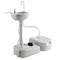 43L Capacity Portable Sink Wash Basin