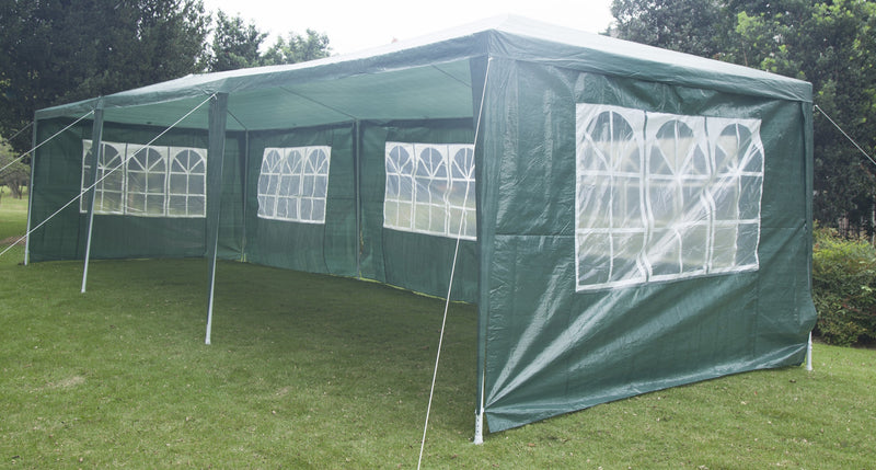 3x9m Wedding Outdoor Gazebo Marquee Tent Canopy