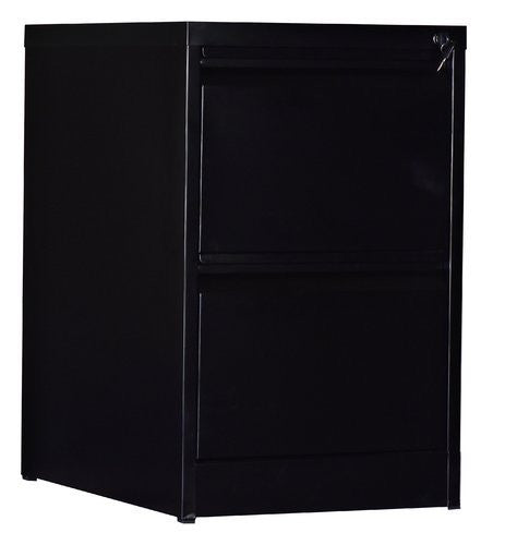 2-Drawer Shelf Storage Locker Cabinet