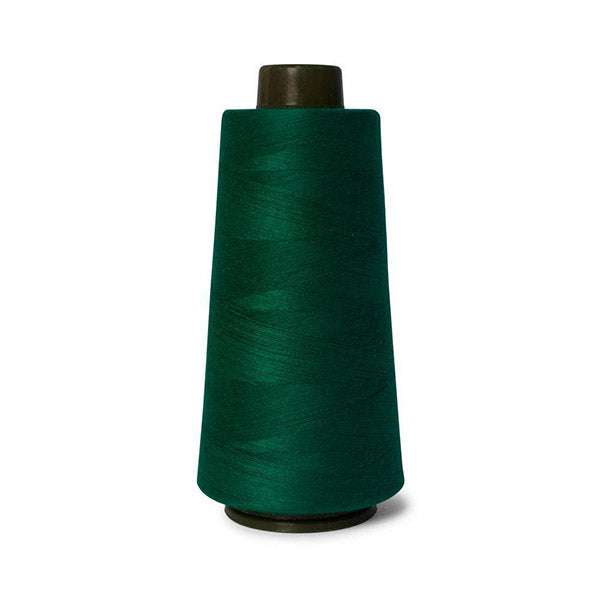 2000M Hemline Polyester Bottle Green Sewing Overlocker Thread Pack
