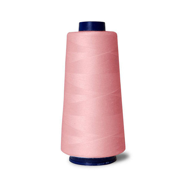 2000M Hemline Polyester Pink Sewing Overlocker Thread Pack