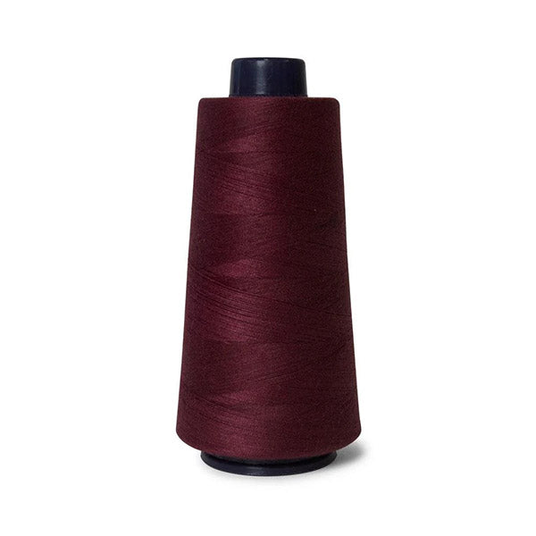 2000M Hemline Polyester Wine Red Sewing Overlocker Thread