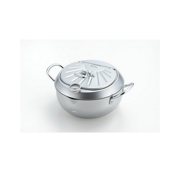 20Cm Deep Frying Pan With Hinged Lid