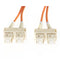 05M Sc Sc Om1 Multimode Fibre Optic Cable Orange