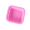 25 Pcs 3D Shaped Soap Silicone Mold Diy Handmade Tools Square