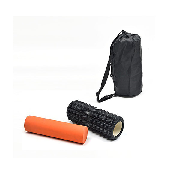2 In 1 Physio Eva Pvc Foam Yoga Roller Back Training Exercise Massage