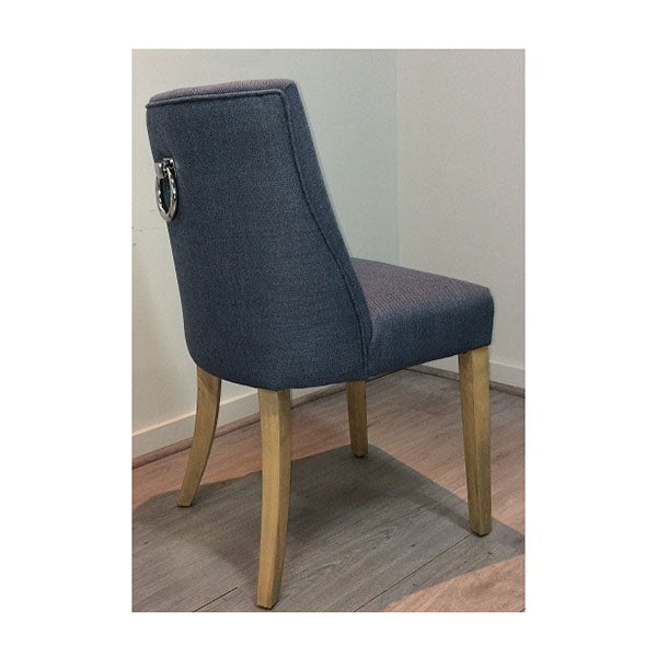 2 Ophelia Dining Chair Denim Blue