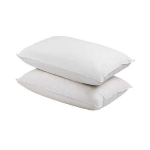 2 Pcs Duck Feathers Down Pillow with Bag